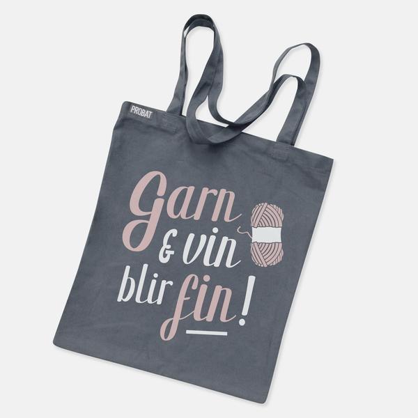Garn & vin blir fin!